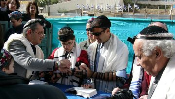 Tefillin family bar mitzvah PD