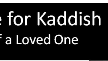 arrange-for-kaddish