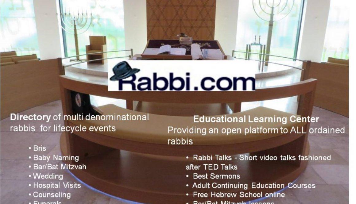Rabbi com Overview June 2017