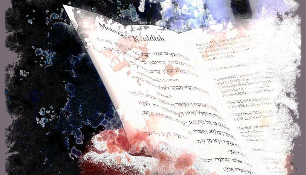 Virtual mourners kaddish prayer