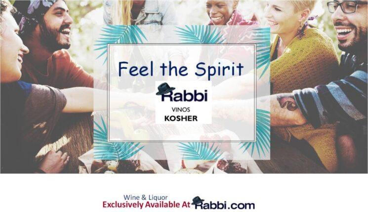 Rabbi feel the Spirits Liquor Wine