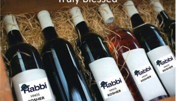 Rabbi Kosher Wines Spirits Truly Blessed